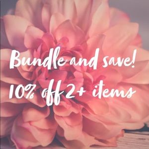 Other - Bundle 2 items and save 10%